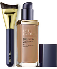 Estée Lauder Perfectionist Foundation and Sculpting Brush