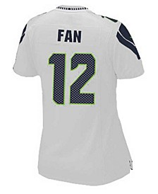 Women's Fan #12 Seattle Seahawks Game Jersey