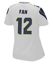 Nike Women's Fan #12 Seattle Seahawks Game Jersey