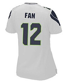 Nike Women's Fan #12 Seattle Seahawks Game Jersey