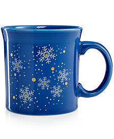 Fiesta Snowflake Java Mug, Created for Macy's