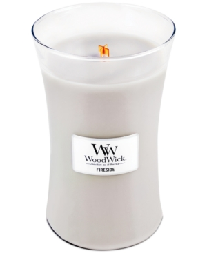 WoodWick Candle Fireside Large Jar