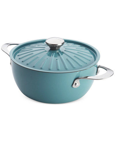 Rachael Ray Cucina Oven-To-Table Hard Enamel Nonstick 4.5 Qt ...