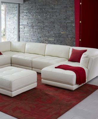 Traverso Leather Modular Living Room Collection