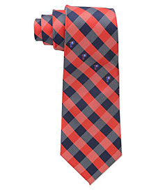 Eagles Wings Detroit Pistons Checked Tie