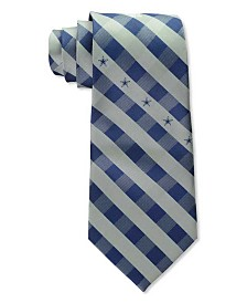 Eagles Wings Dallas Cowboys Checked Tie