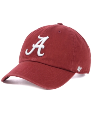 Image of '47 Brand Alabama Crimson Tide Ncaa Clean-Up Cap