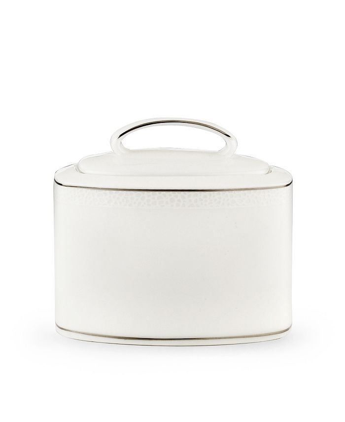 """kate spade new york - """"Cypress Point"""" Sugar Bowl with Lid"""