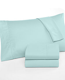 CLOSEOUT! Martha Stewart Collection King Open Stock Fitted Sheet, 300 Thread Count 100% Cotton, Created for Macy's