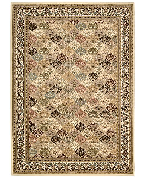 "Kathy Ireland Home Ephesus Magnesian Multi 7'10"" x 10'10"" Area Rug, Created for Macy's"