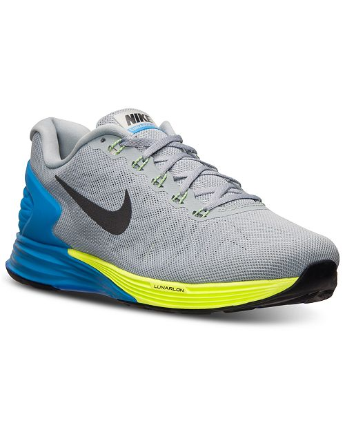 065dea8dd7a8 Nike Men s Lunarglide 6 Running Sneakers from Finish Line ...