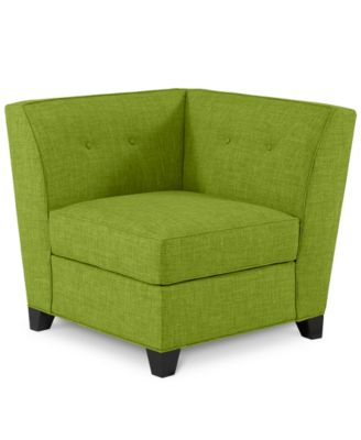 Harper Fabric Armless Living Room Chair Furniture Macy S