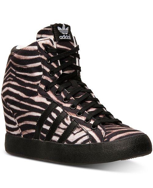 adidas basket profi wedge sneakers