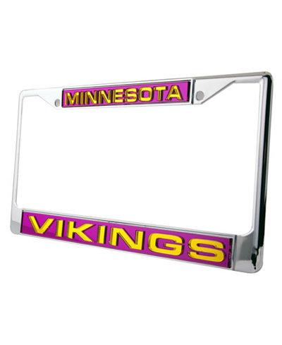 Rico Industries Minnesota Vikings License Plate Frame