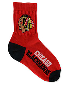 For Bare Feet Kids' Chicago Blackhawks 501 Socks