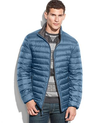 Buffalo David Bitton Packable Down Jacket - Coats & Jackets - Men ...