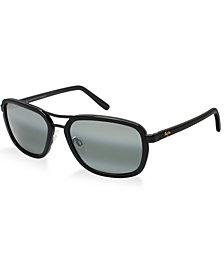 Maui Jim Polarized Sunglasses, 289 Wanderer 58P