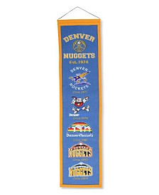 Winning Streak Denver Nuggets Heritage Banner