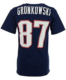 Men's Short-Sleeve Rob Gronkowski New England Patriots Player T-Shirt