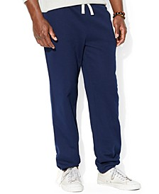 Men's Cotton-Blend-Fleece Pants