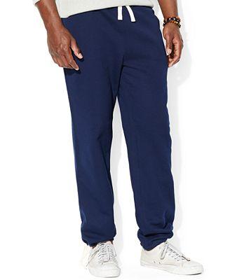 Polo Ralph Lauren Men's Core Fleece Pants - Pants - Men - Macy's