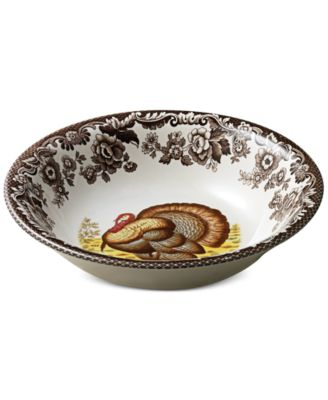 Product Picture  sc 1 st  Macy\u0027s & Spode Dinnerware Woodland Turkey Collection - Dinnerware - Dining ...