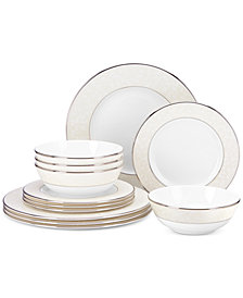 Lenox Opal Innocence 12-Pc. Service for 4, Created for Macy's