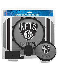 Jarden Sports Brooklyn Nets Slam Dunk Basketball Hoop Set