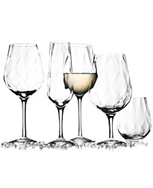 Dizzy Diamond Stemware Collection