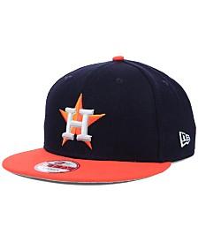New Era Houston Astros MLB 2 Tone Link 9FIFTY Snapback Cap