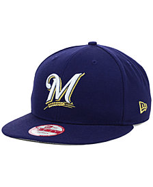 New Era Milwaukee Brewers MLB 2 Tone Link 9FIFTY Snapback Cap