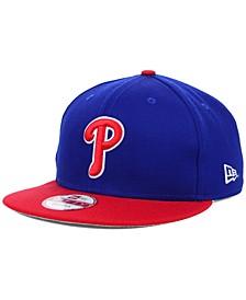 Philadelphia Phillies MLB 2 Tone Link 9FIFTY Snapback Cap