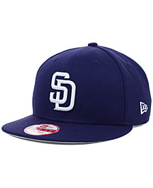 exclusive deals high quality best cheap cheapest san diego padres new era mlb youth b dub 9fifty snapback ...