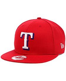 Texas Rangers MLB 2 Tone Link 9FIFTY Snapback Cap