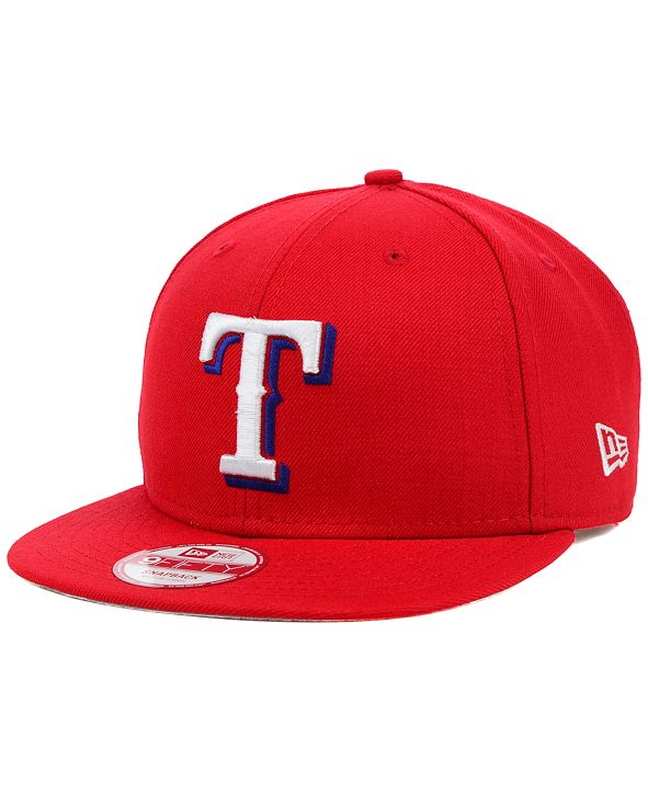 New Era Texas Rangers MLB 2 Tone Link 9FIFTY Snapback Cap