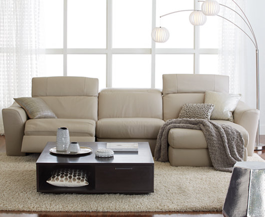 Surprising Alessandro 3 Pc Leather Sectional Sofa With Chaise With 2 Machost Co Dining Chair Design Ideas Machostcouk