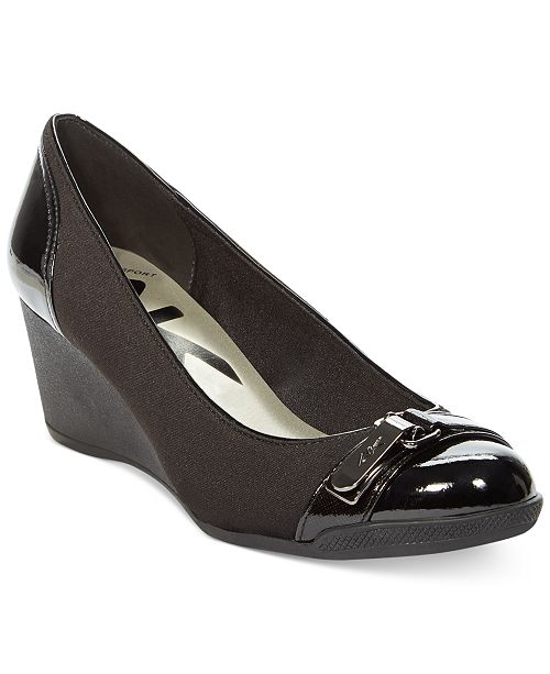 4c29d9628a Anne Klein Sport Tamorow Wedges & Reviews - Pumps - Shoes ...