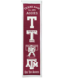 Winning Streak Texas A&M Aggies Heritage Banner