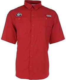 Columbia Men's Georgia Bulldogs Tamiami Shirt
