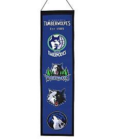 Winning Streak Minnesota Timberwolves Heritage Banner