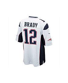Nike Kids' Tom Brady New England Patriots Game Jersey, Big Boys (8-20)