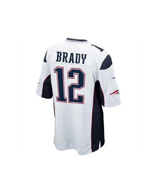 a7054f23 Nike Kids' Tom Brady New England Patriots Game Jersey, Big Boys (8 ...