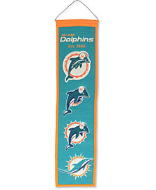 Winning Streak Miami Dolphins Heritage Banner