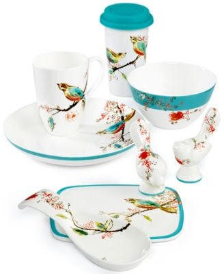 This item is part of the Lenox Chirp Gifts Under $50 Collection  sc 1 st  Macyu0027s & Lenox Simply Fine Dinnerware Chirp Inidual Soup/Pasta Bowl ...