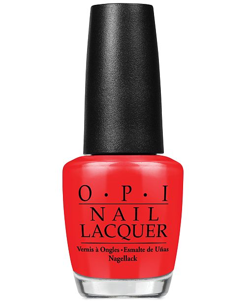 OPI Nail Lacquer, The Thrill of Brazil