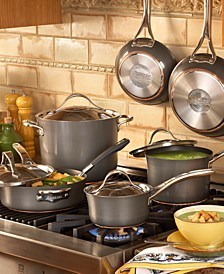 Nouvelle Hard-Anodized Copper 11 Piece Cookware Set