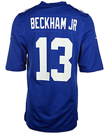 Nike Men's Odell Beckham Jr. New York Giants Game Jersey