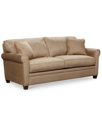 Kaleigh Fabric Queen Sleeper Sofa Bed - Furniture - Macy's
