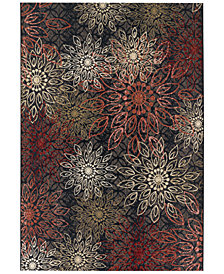 "Couristan Indoor/Outdoor Runner Rug, Dolce 4039/0760 Amalfi Multi 2'3"" x 7'10"""
