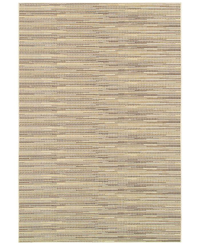 Couristan - Indoor/Outdoor Area Rugs, Monaco 2471/1016 Larvotto Sand-Multi